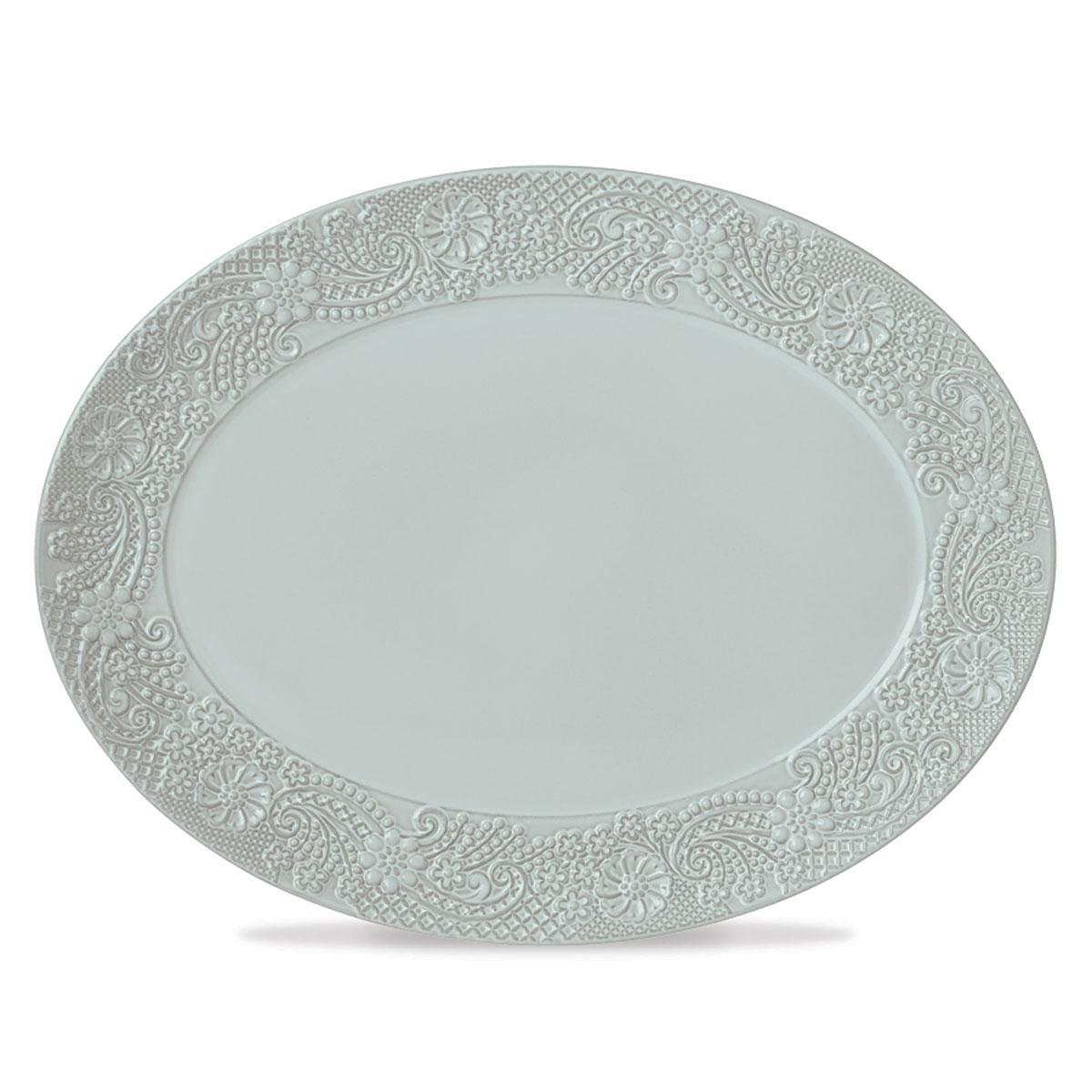 Lenox Chelse Muse Dinnerware Rct Blue Platter