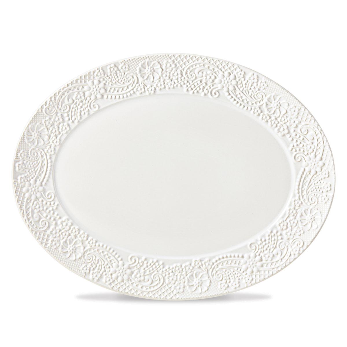 Lenox Chelse Muse Dinnerware Rct White Platter