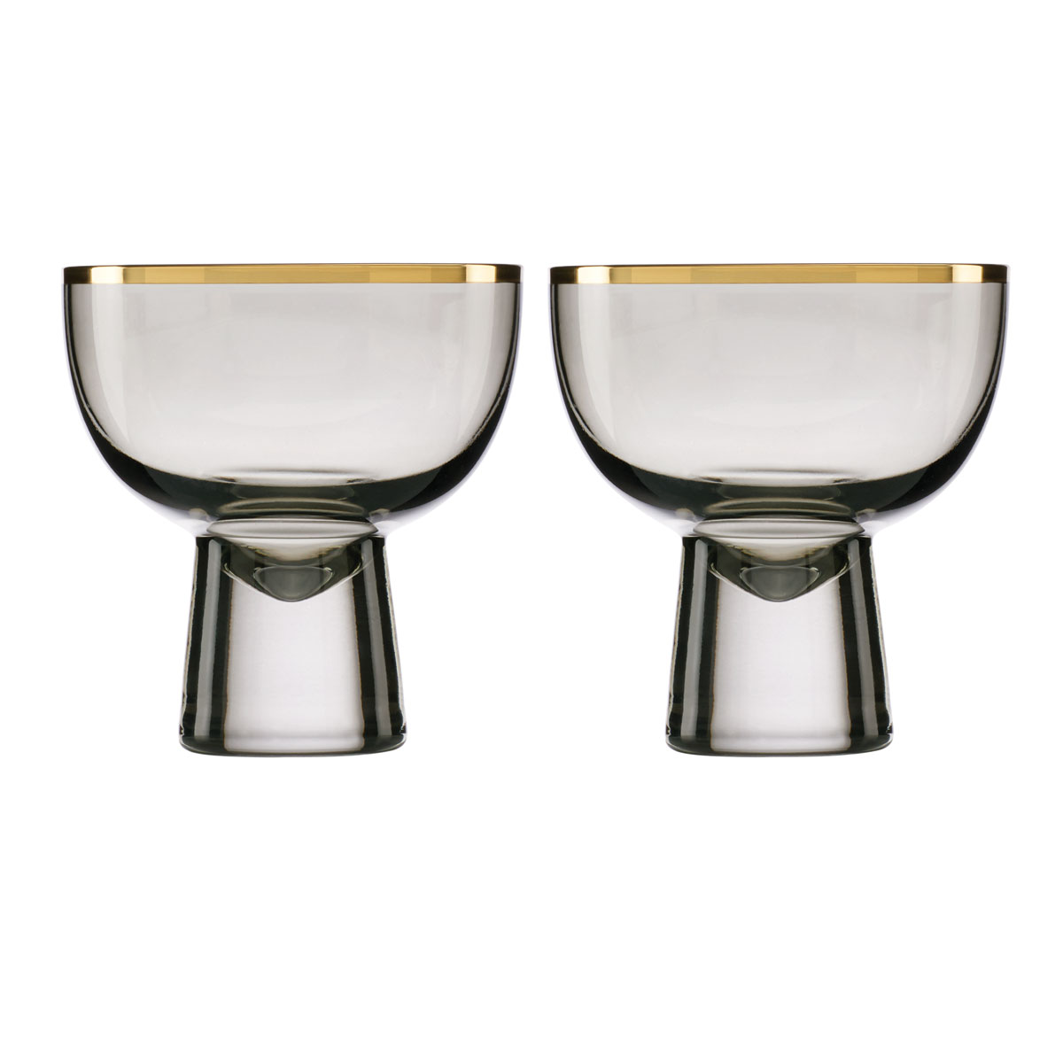 Lenox Trianna Slate Cocktail Glass Pair