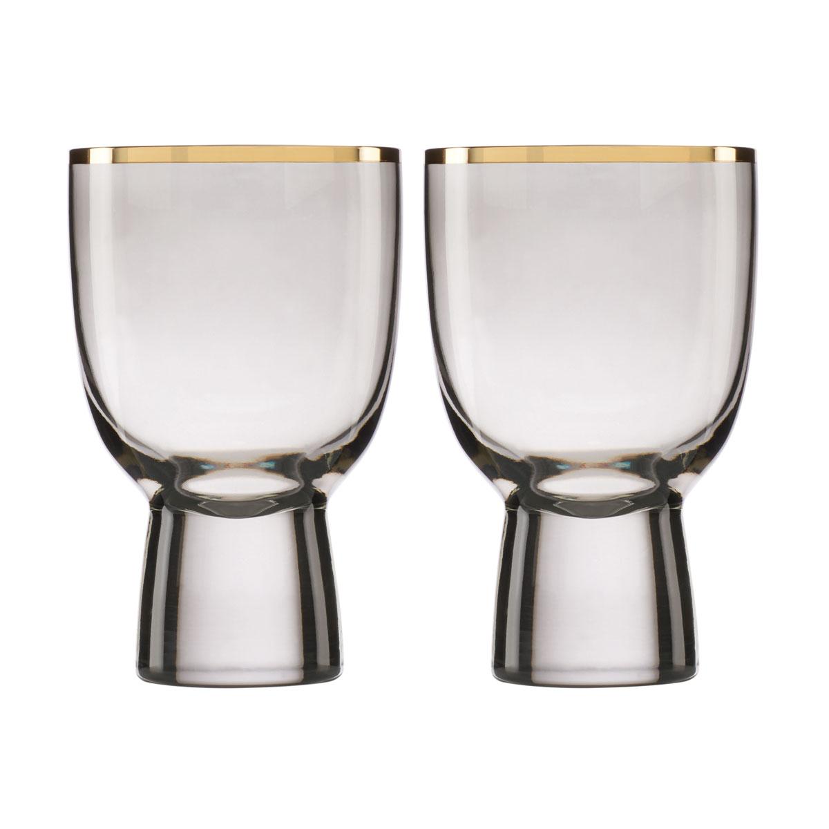 Lenox Trianna Slate Wine Glass Pair