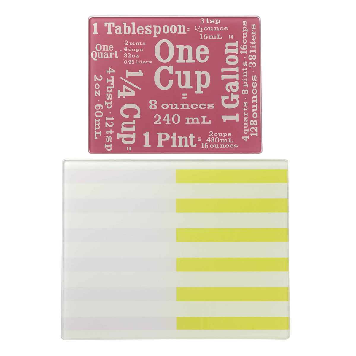 Kate Spade New York, Lenox Nolita Blush Glass Prep Board, Set of 2