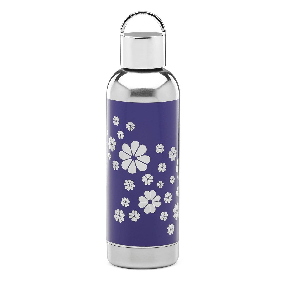 kate spade new york Lenox Nolita Blue Navy Spade Flower 17oz Hydration