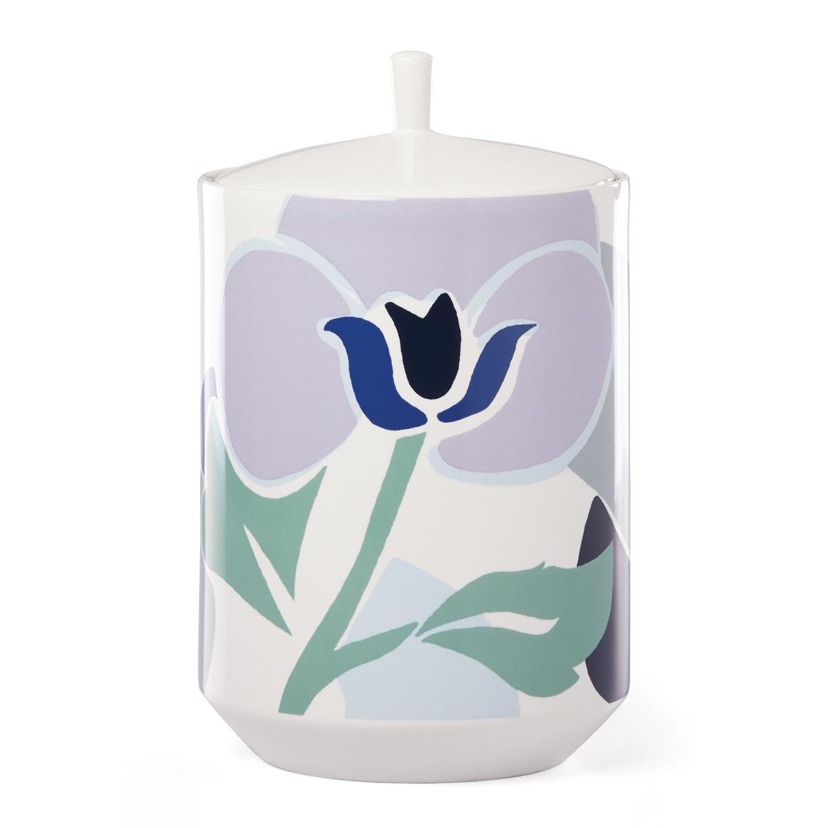 Kate Spade China by Lenox, Stoneware Nolita Blue Floral Cookie Jar