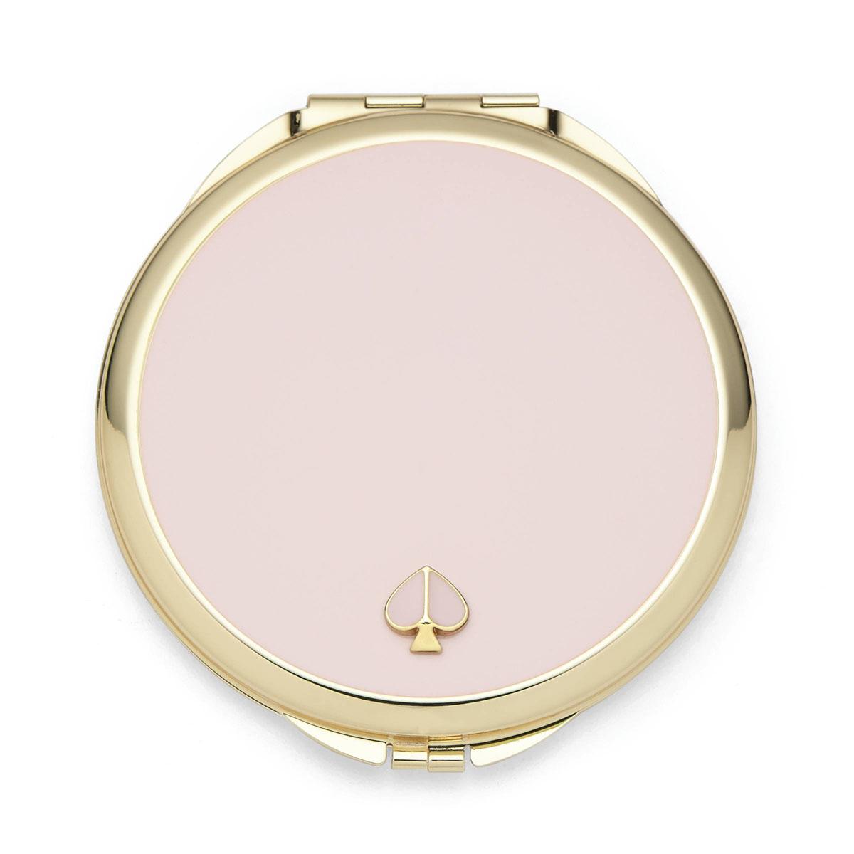 kate spade new york Lenox Spade Street Gold Compact , Blush