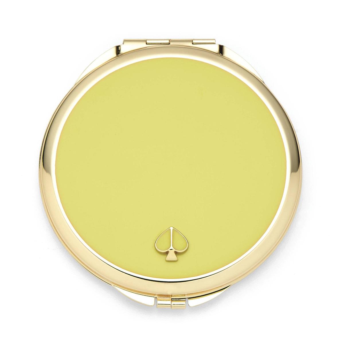 Kate Spade New York, Lenox Spade Street Gold Compact, Citron