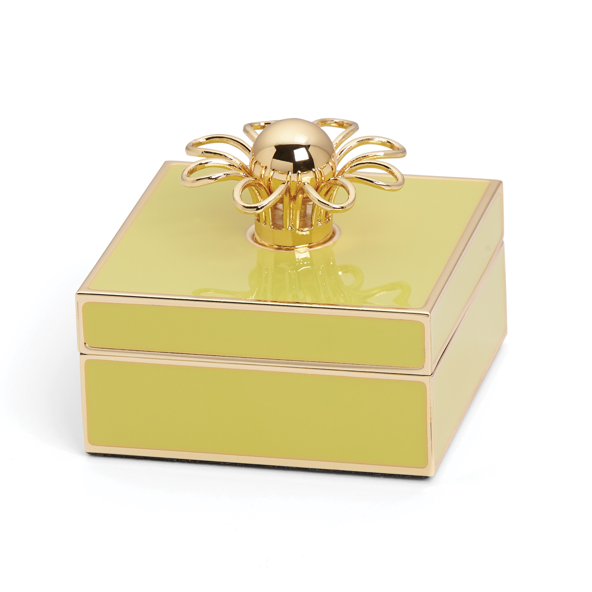 Kate Spade New York, Lenox Keaton Street Gold Yellow Box