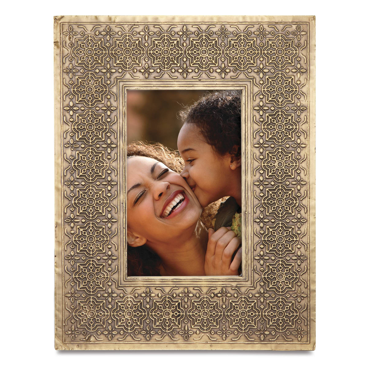 "Lenox Global Tapestry Metal Hammered 4""x6"" Picture Frame"