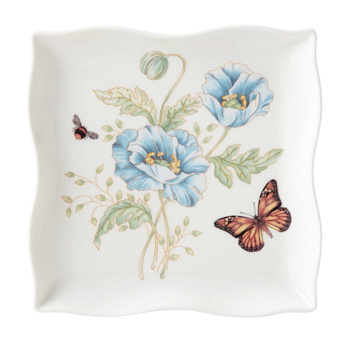Lenox Butterfly Meadow Dinnerware Square Dish