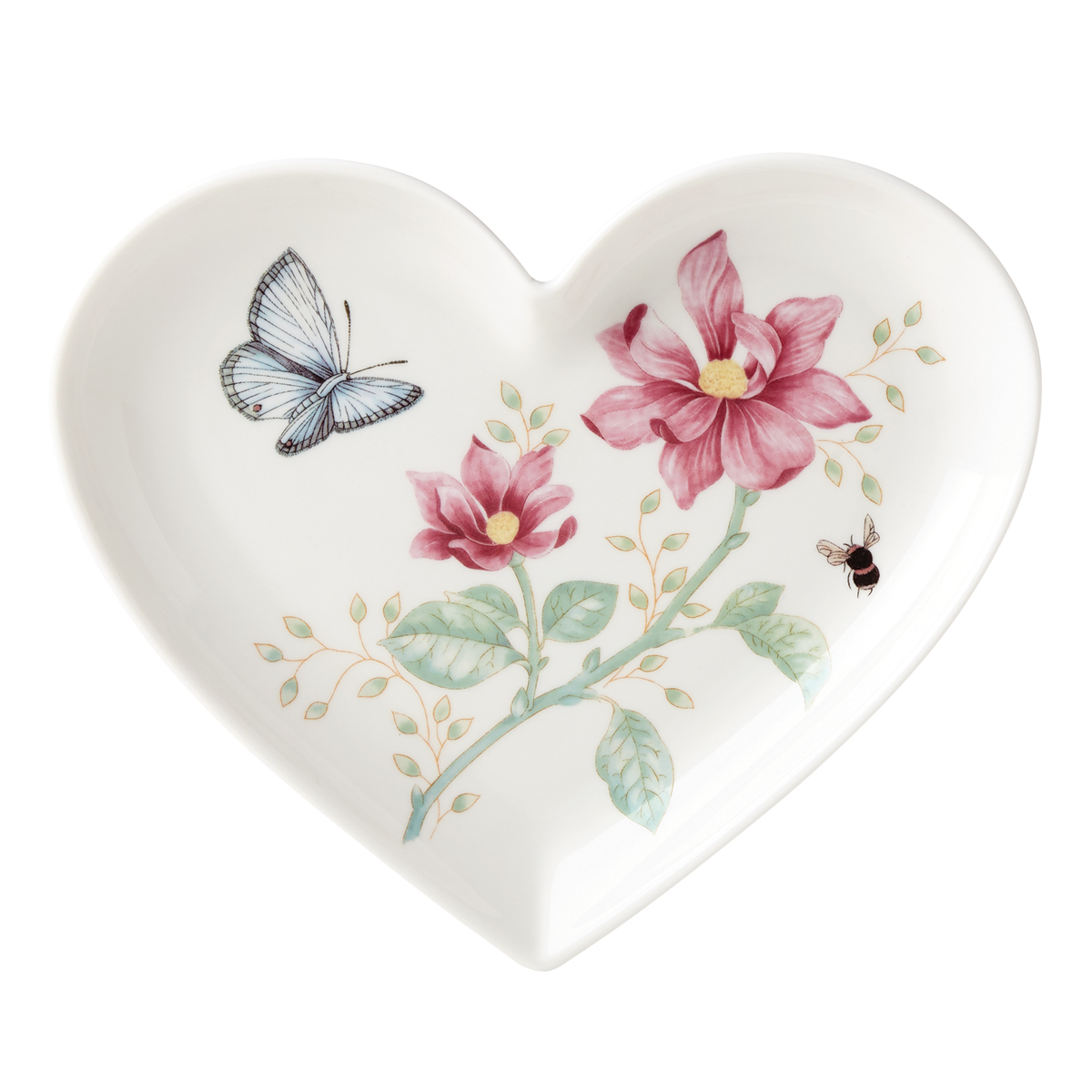 Lenox Butterfly Meadow Dinnerware Heart Dish