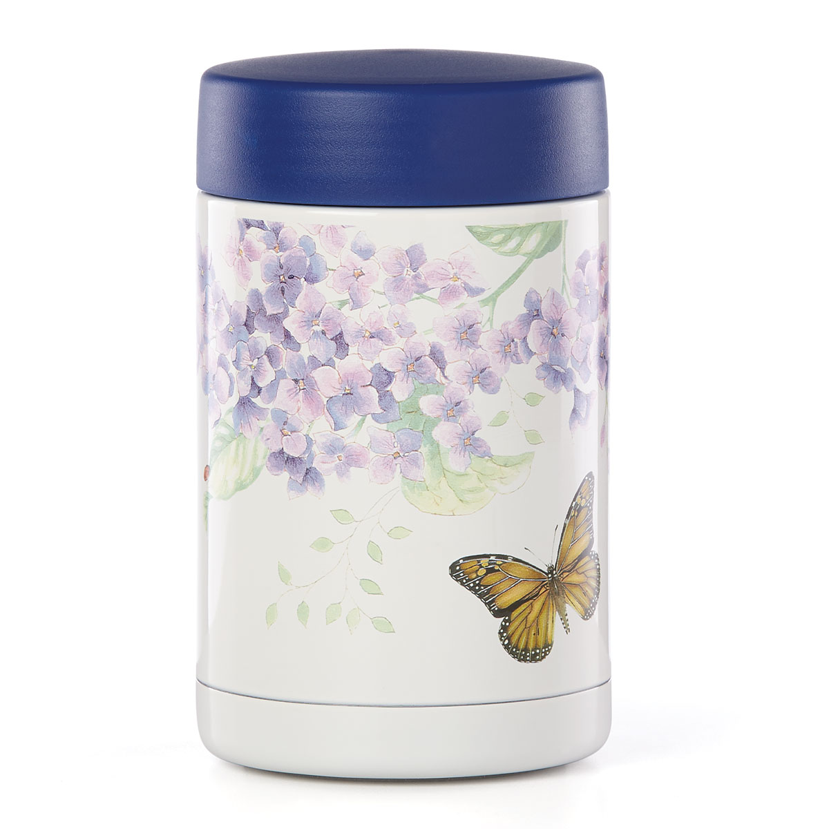 Lenox Butterfly Meadow Dinnerware Insulated Food Container Lg
