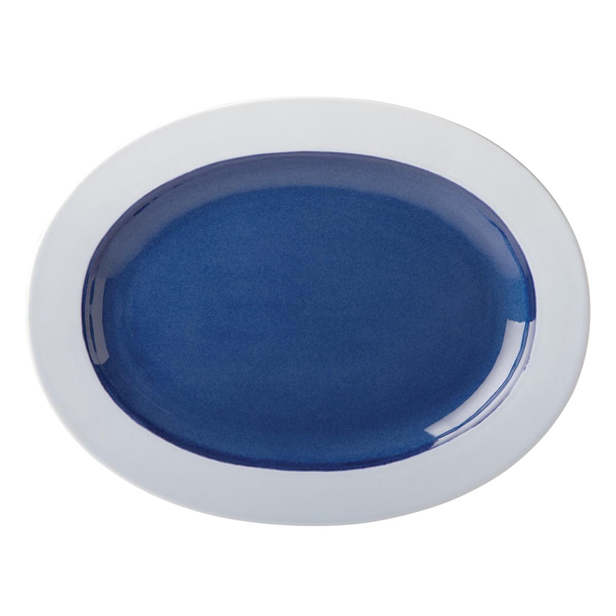 Kate Spade China by Lenox, Stoneware Nolita Blue Platter