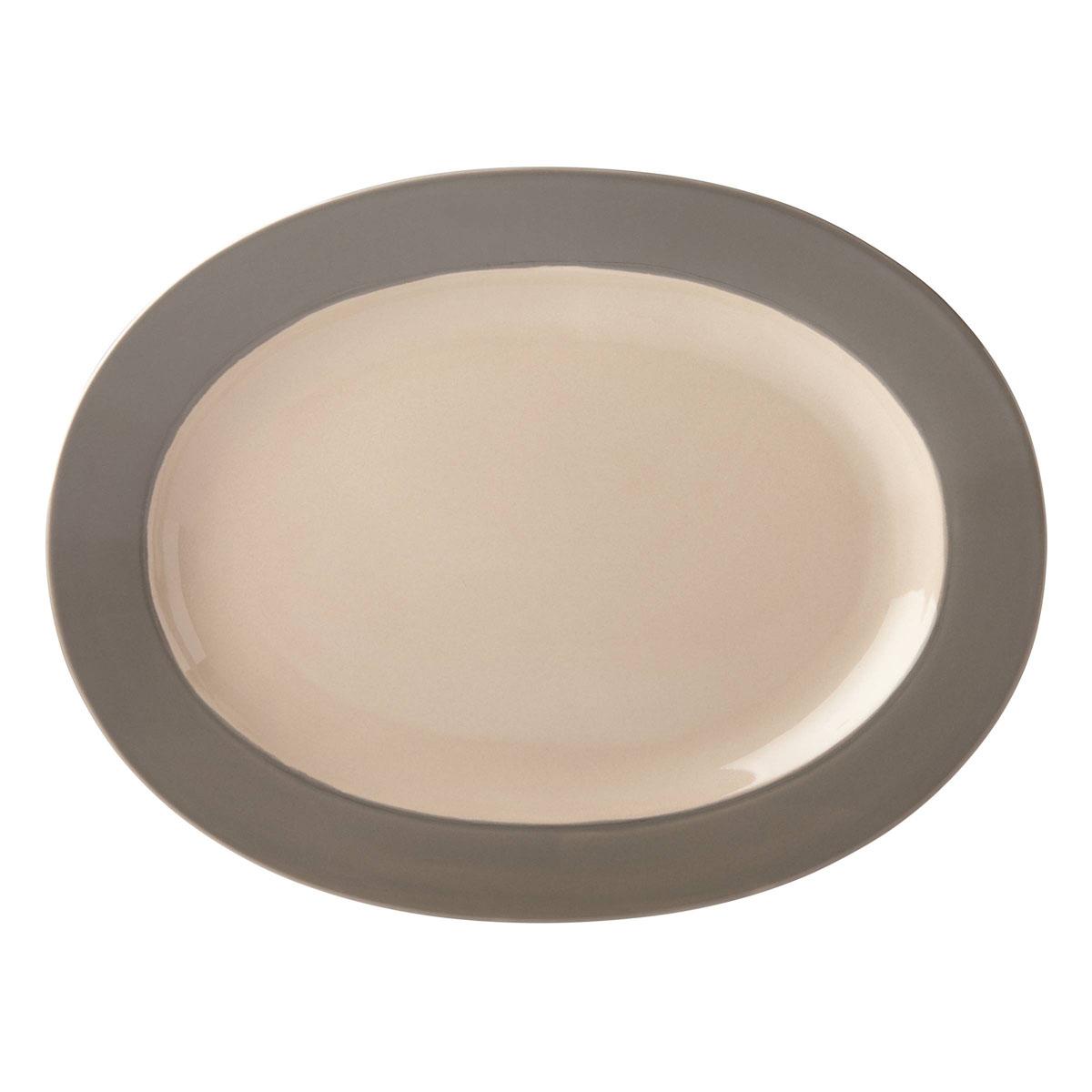kate spade new york Lenox Stoneware Nolita Gray Platter