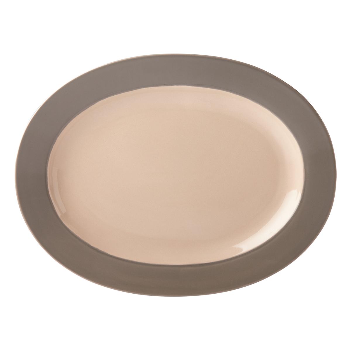 Kate Spade China by Lenox, Stoneware Nolita Gray Platter