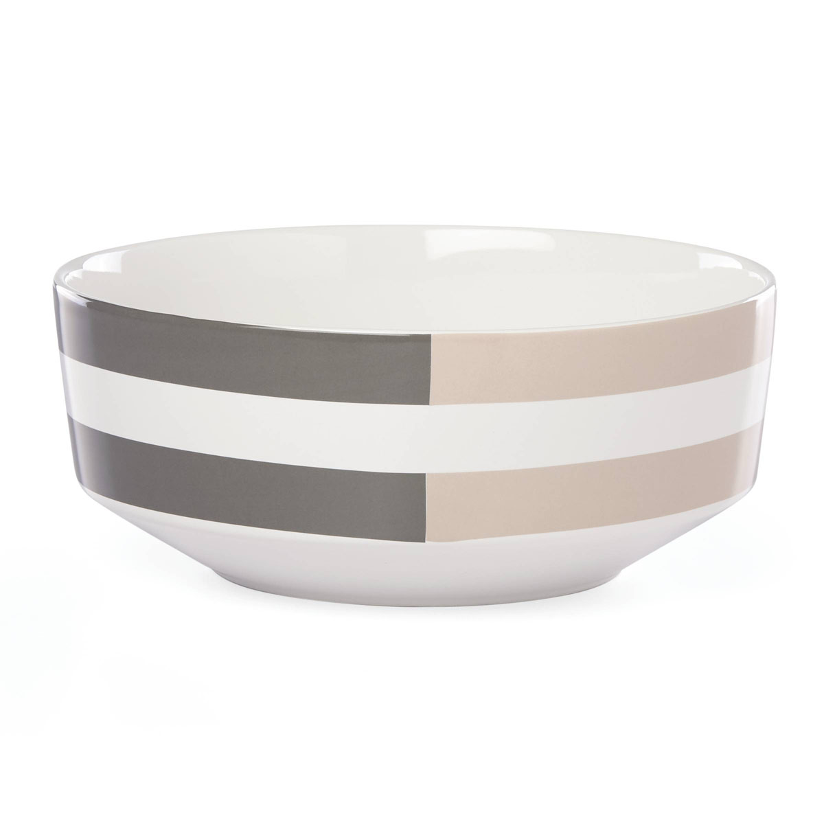 kate spade new york Lenox Stoneware Nolita Gray Serving Bowl