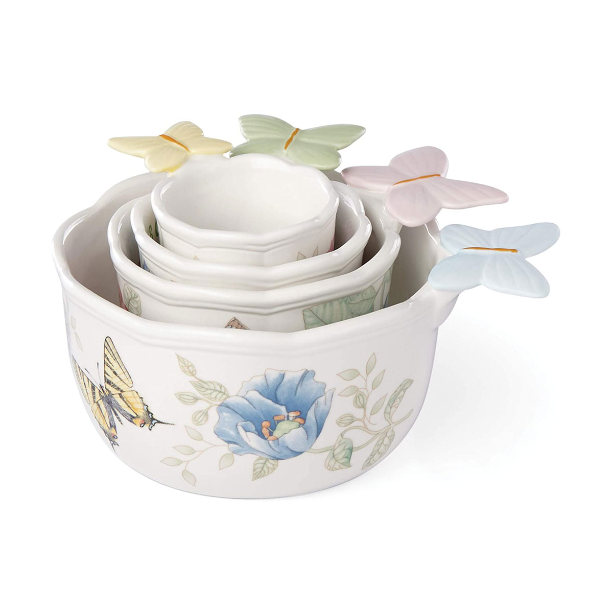 Lenox China Butterfly Meadow, 4 Pc Set Measuring Cups
