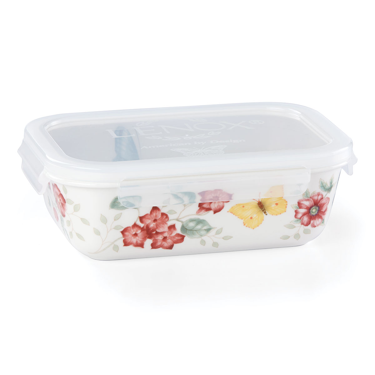 Lenox Butterfly Meadow Dinnerware Rectangular Serving and Storage Container