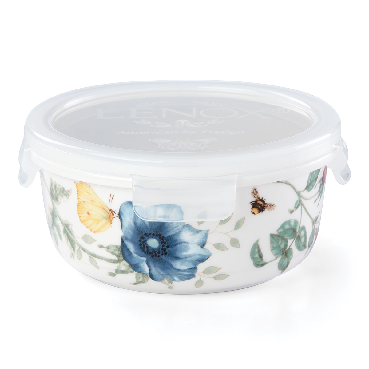 Lenox Butterfly Meadow Dinnerware Round Srv And Str 16Oz