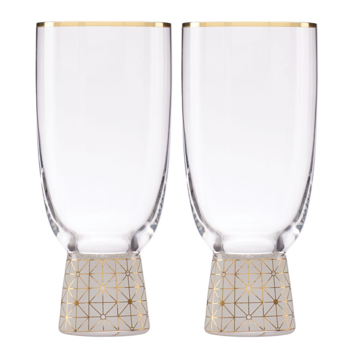 Lenox Trianna Frost All Purpose Glass Pair