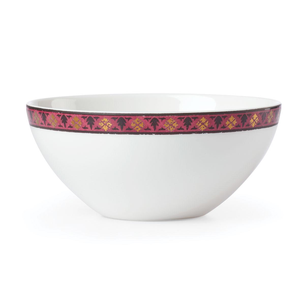 Lenox Global Tapestry Garnet Mandala Dinnerware Dip Bowl