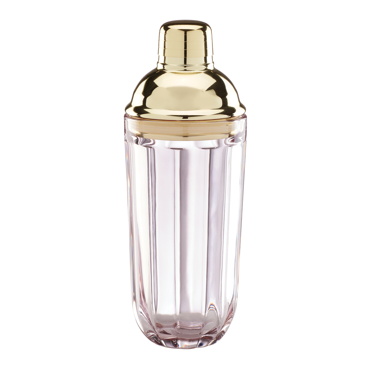 Kate Spade New York, Lenox Park Circle Rose Metal Cocktail Shaker