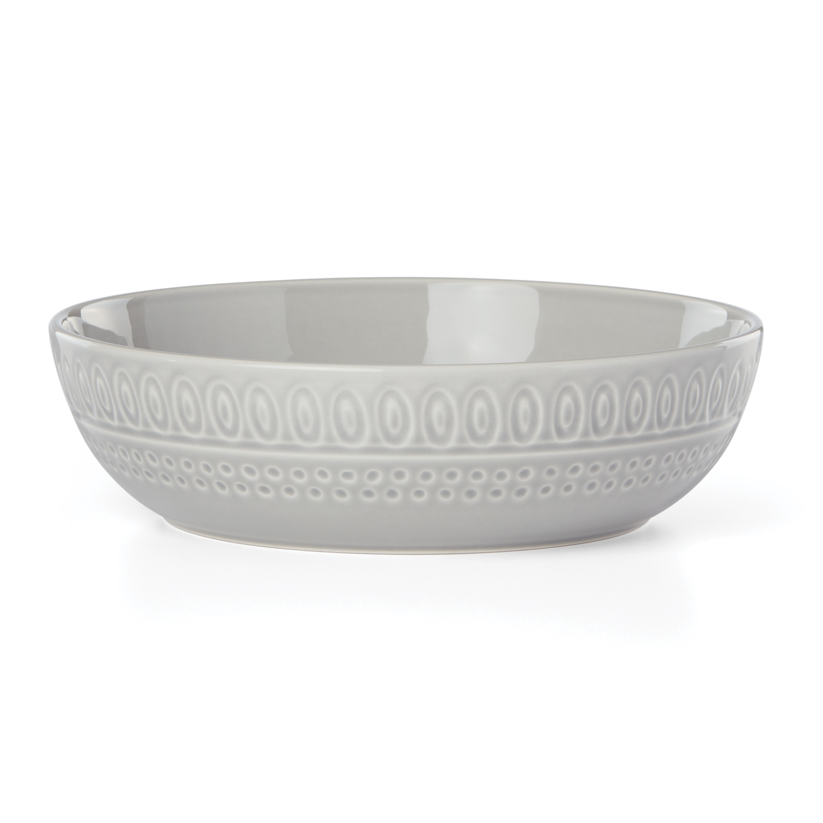 Kate Spade China by Lenox, Willow Dr Grey Dinner Bowl