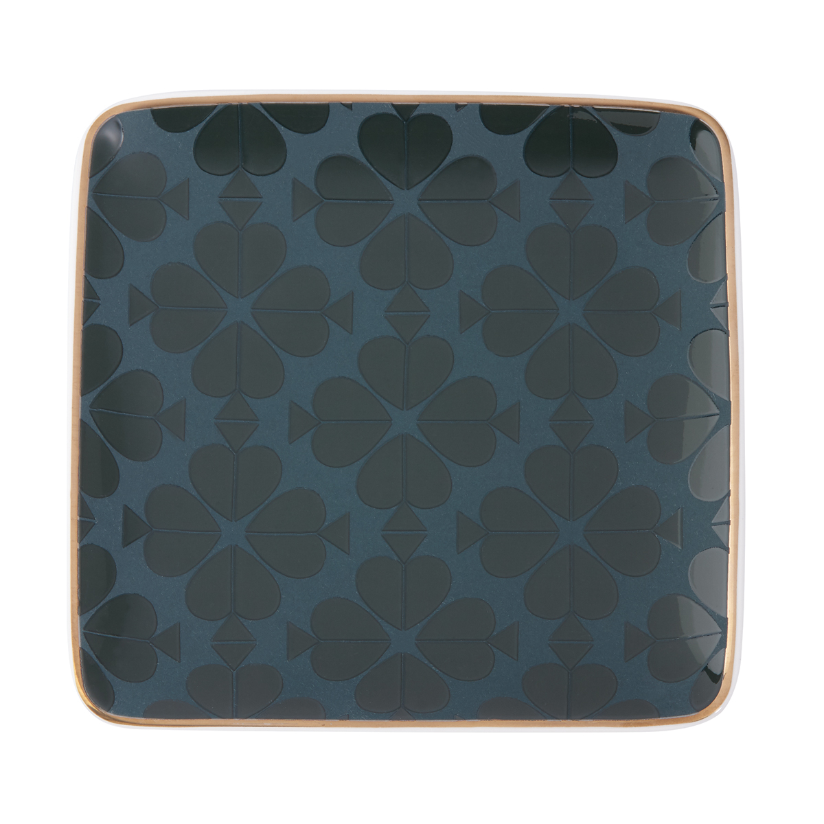 Kate Spade China by Lenox, Spade St Square Dish Clover