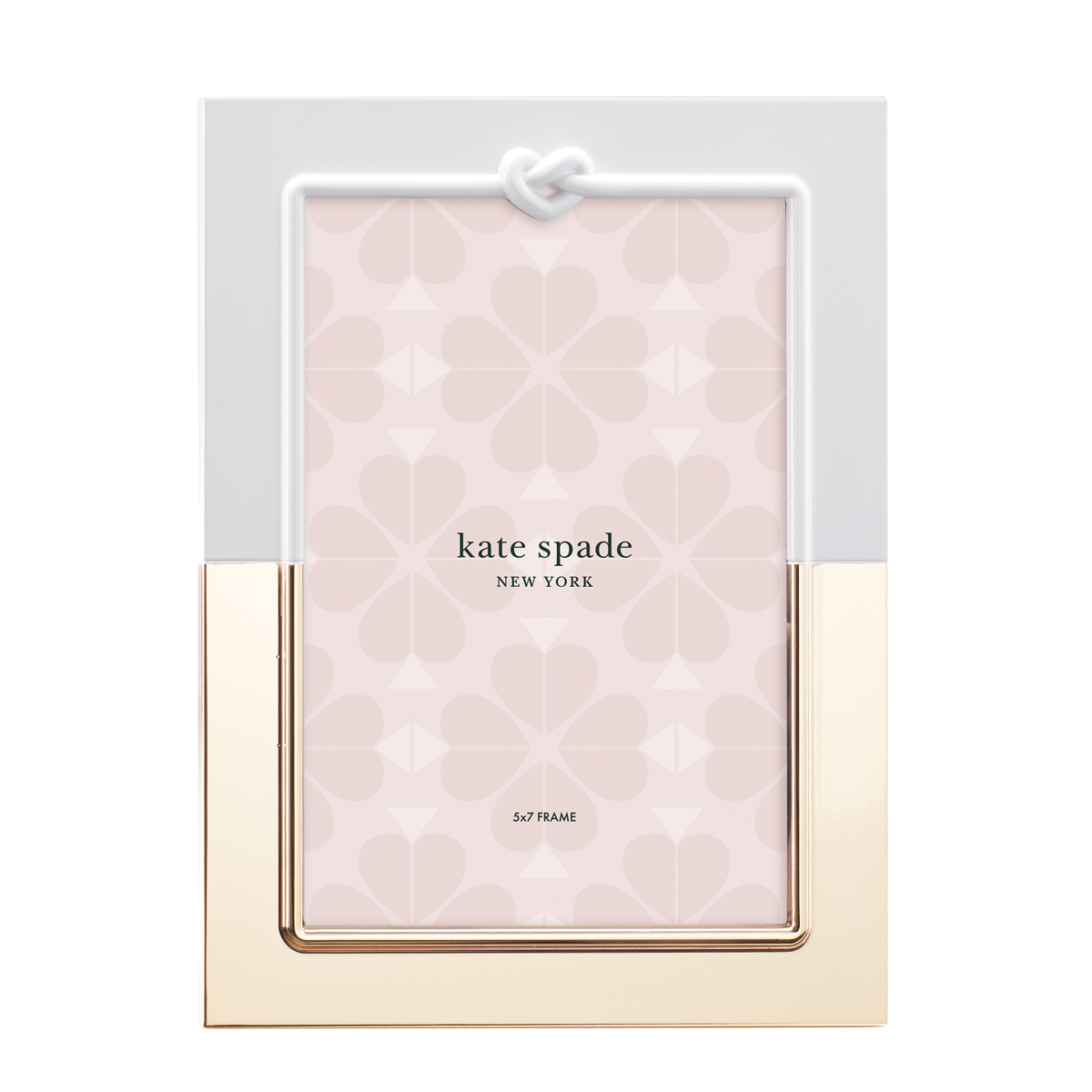 Kate Spade New York, Lenox With Love Metal Frame 5x7""