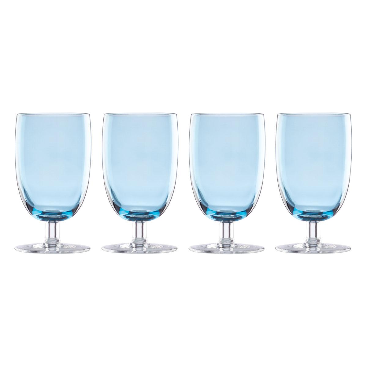 Lenox Valencia Blue All Purpose Glass Set Of Four