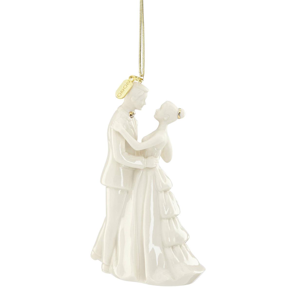 Lenox Bride and Groom 2020 Ornament