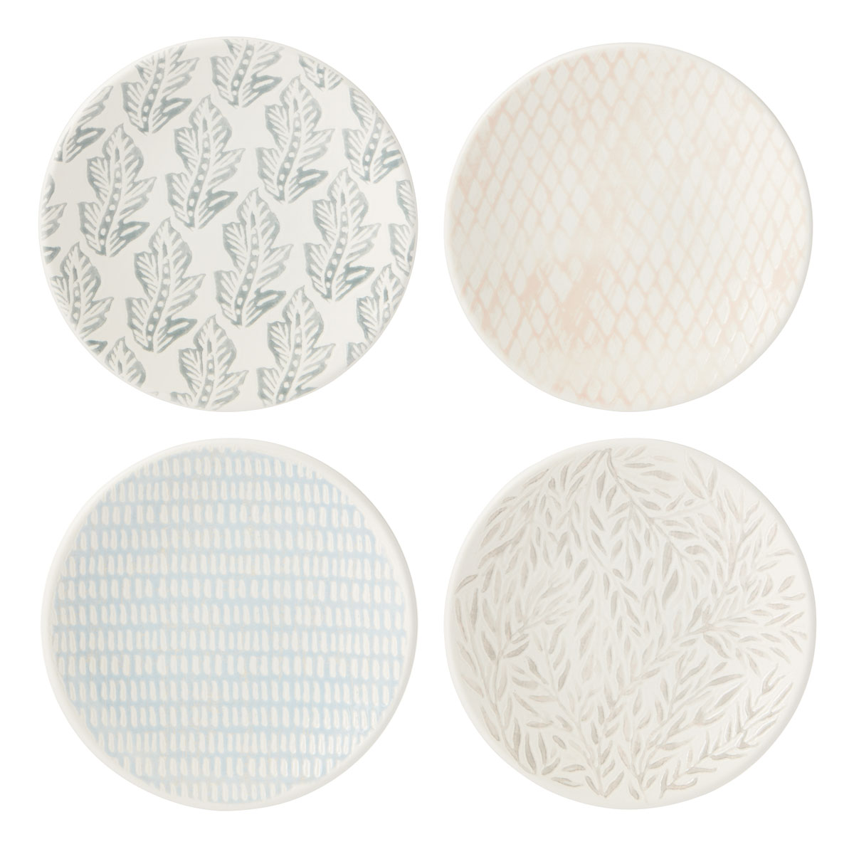 Lenox Textured Neutrals Dinnerware Tidbits Set Of Four