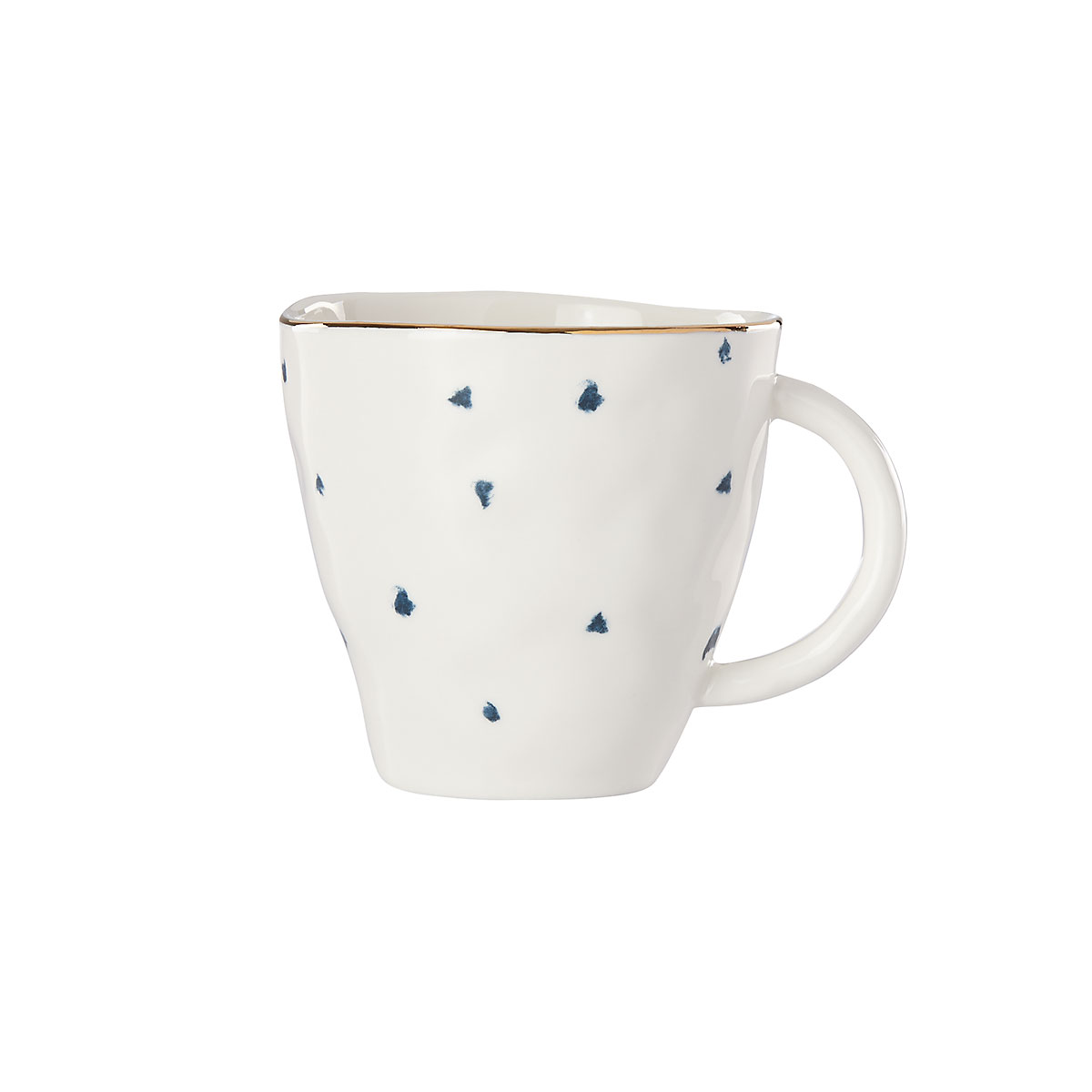 Lenox Blue Bay Dot Dinnerware Dessert Mug