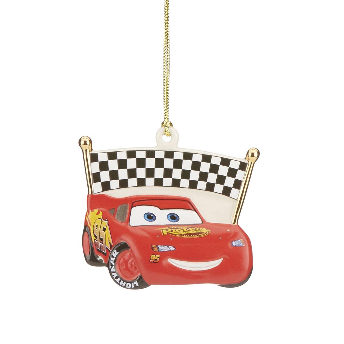 Lenox 2021 Disney Lightening McQueen Ornament