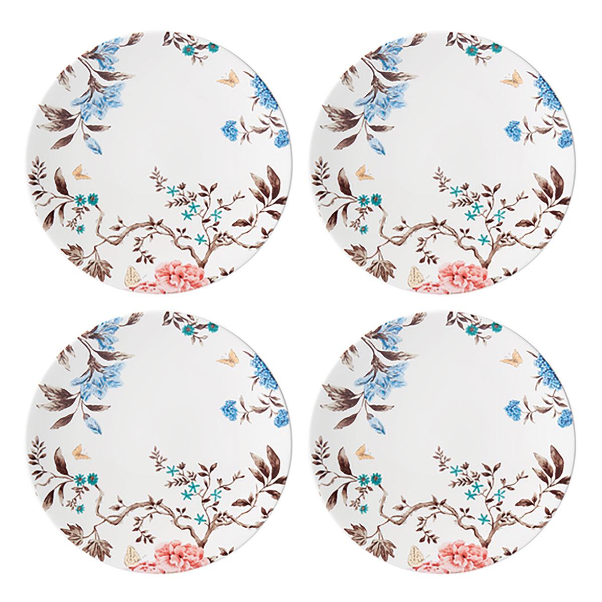 Lenox Sprig And Vine Dinnerware Dinner Plate White Set Of Four
