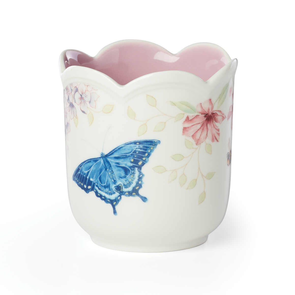 Lenox Butterfly Meadow Filled Candle Purple