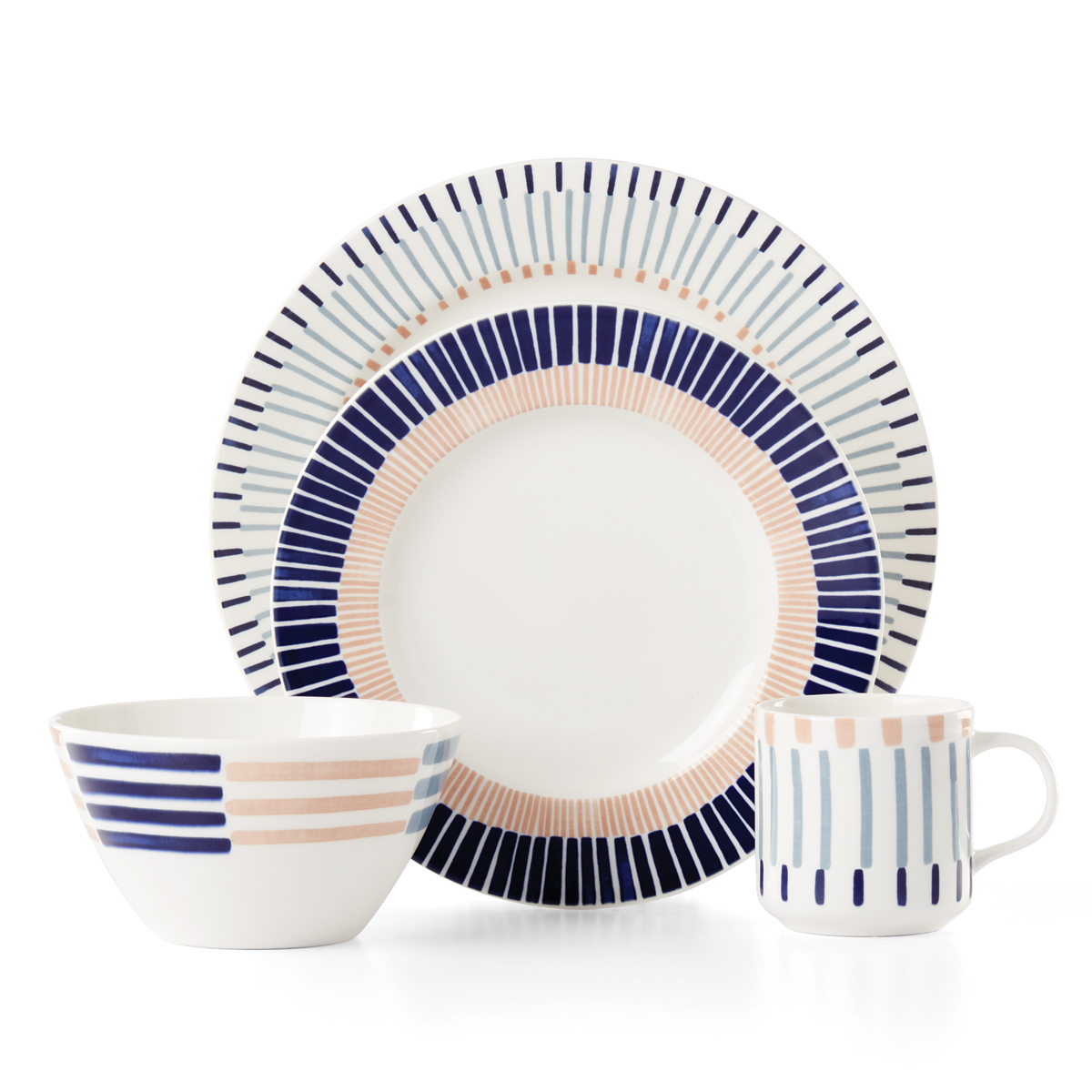 Kate Spade China by Lenox, Brook Lane 4 Piece Place Setting