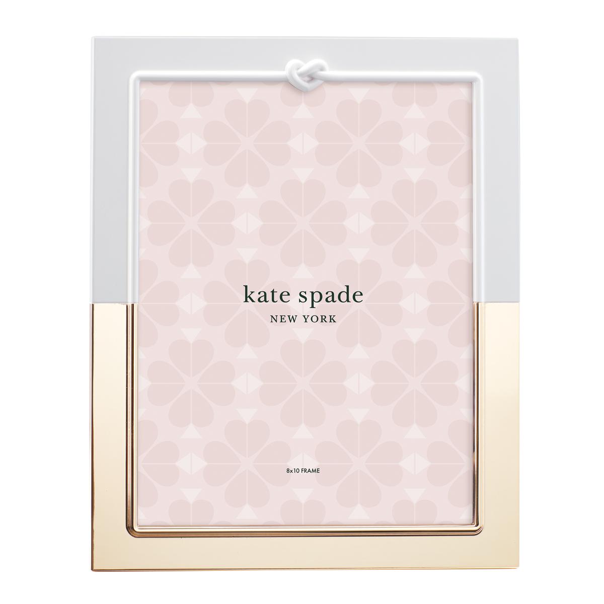 "Kate Spade New York, Lenox With Love Metal Frame 8X10"""