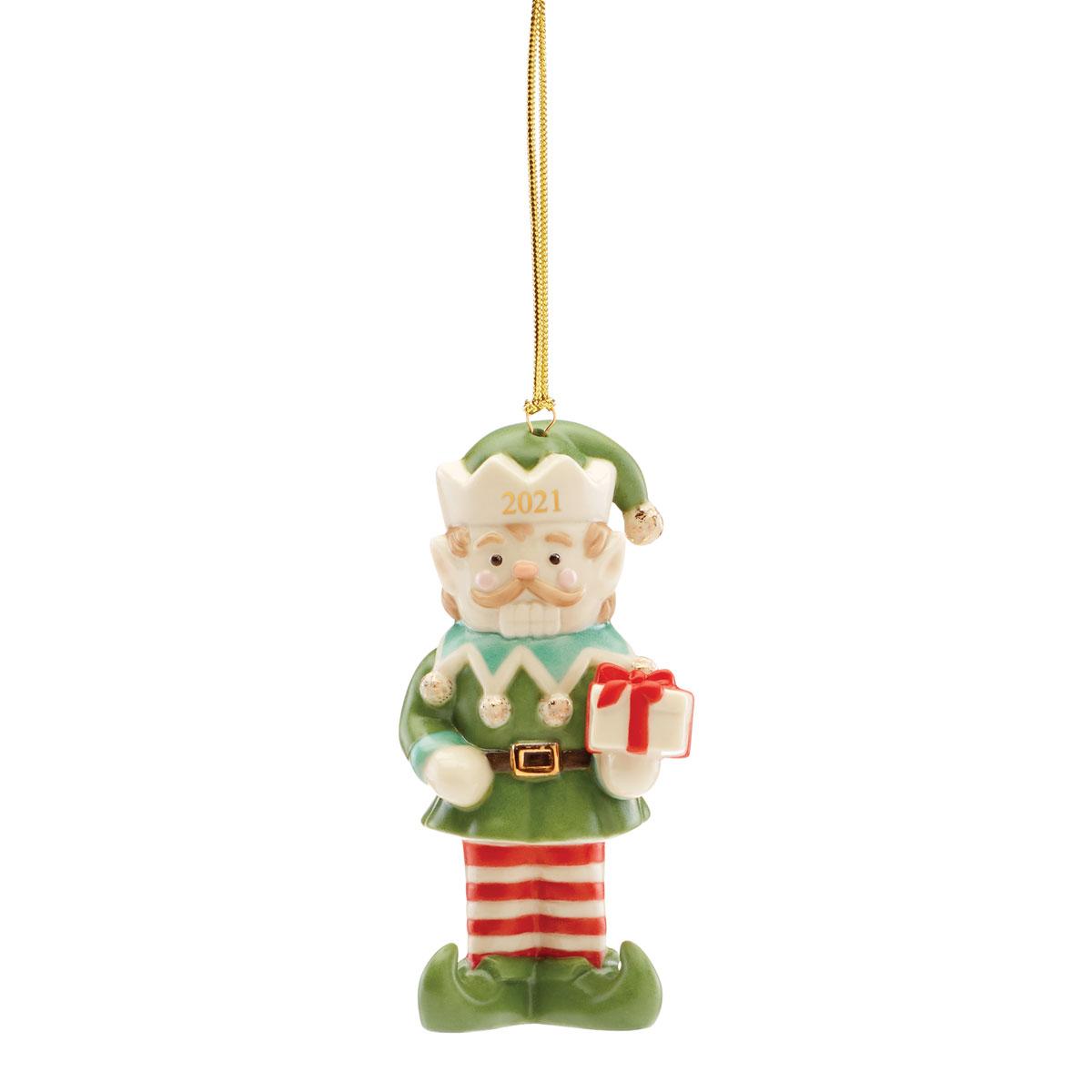 Lenox 2021 Nutcracker Elf Ornament