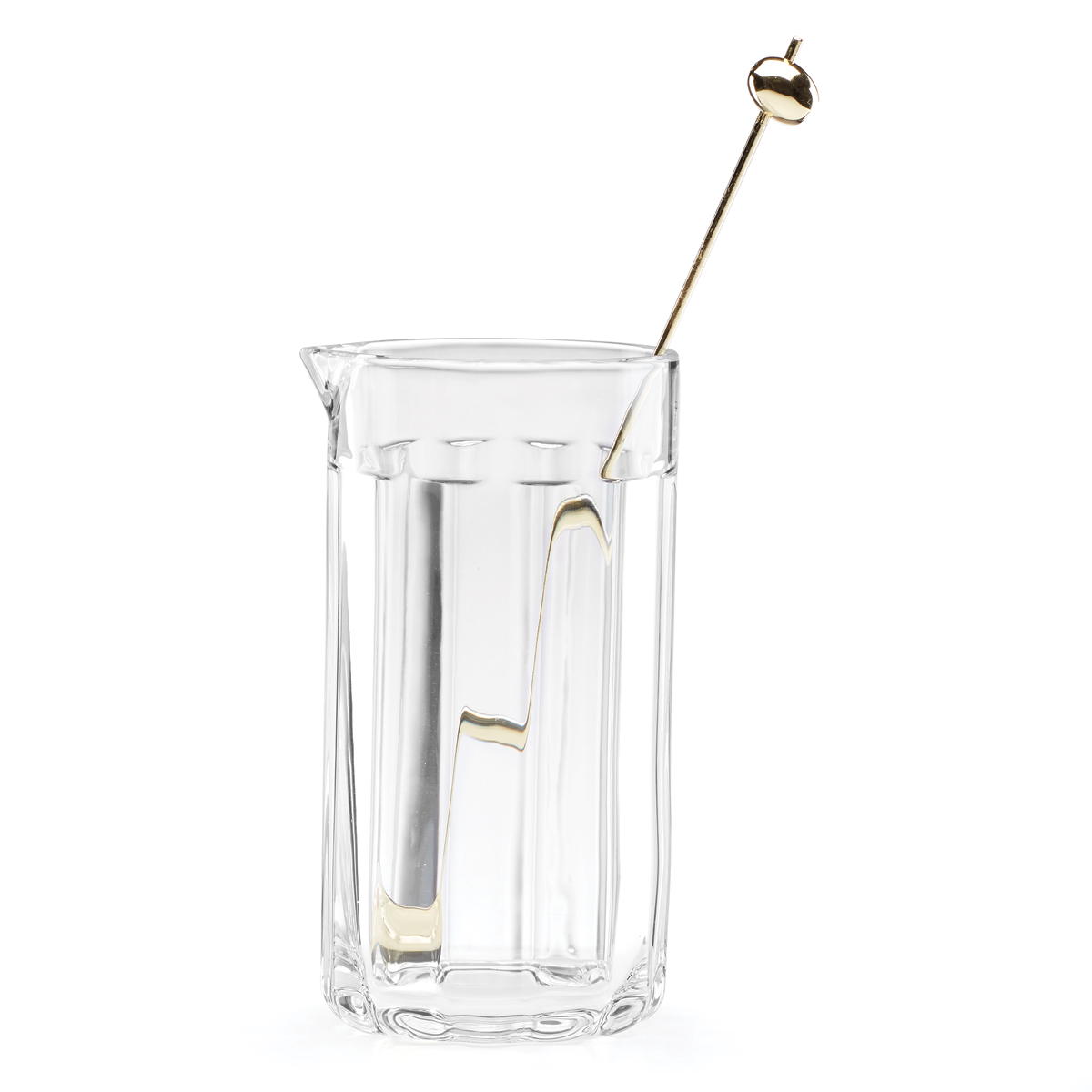 Kate Spade New York, Lenox Park Circle Clear Cktail Carafe With Stirrer