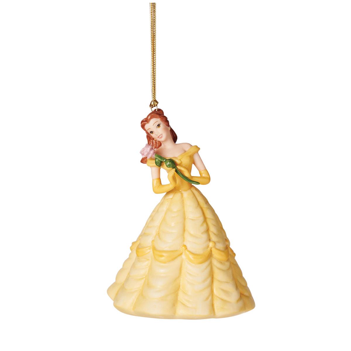 Lenox 2021 Disney Princess Belle 30th Anniversary Ornament