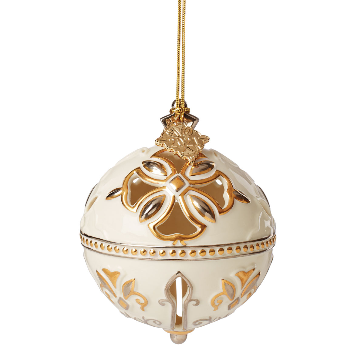 Lenox 2021 Annual Ornament - Jingle Bell