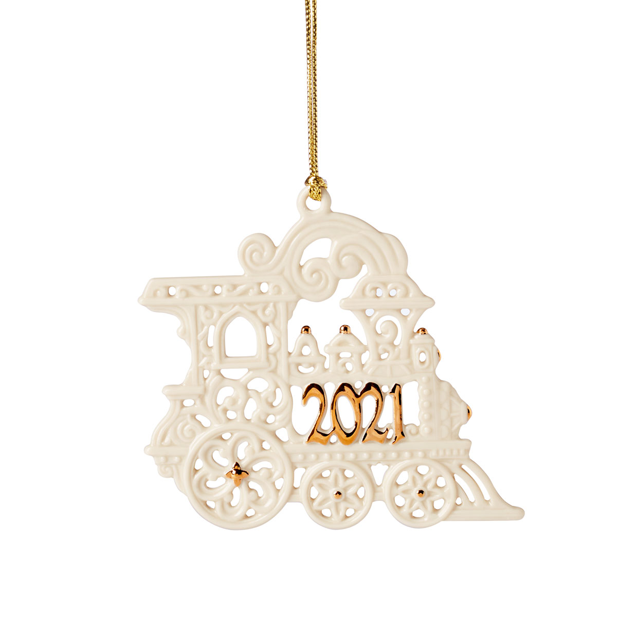 Lenox 2021 A Year To Remember Train Ornament