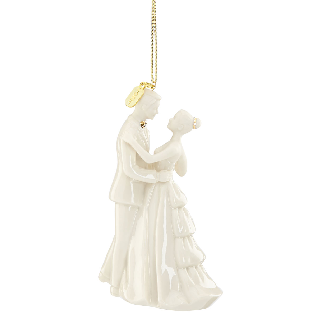 Lenox 2021 Bride and Groom Ornament