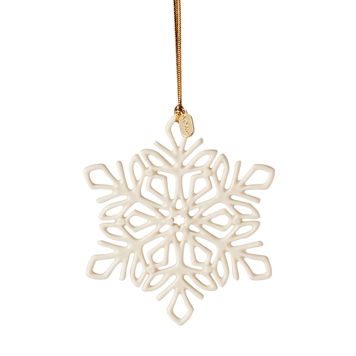 Lenox 2021 Snow Fantasies Snowflake Ornament
