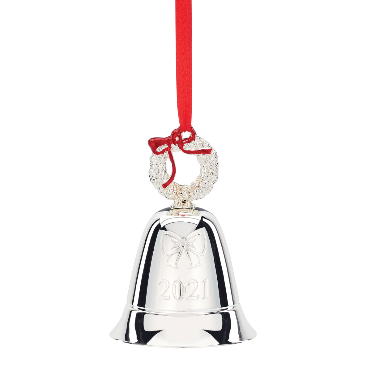Lenox 2021 Annual Musical Bell Metal Ornament 45th in the Series