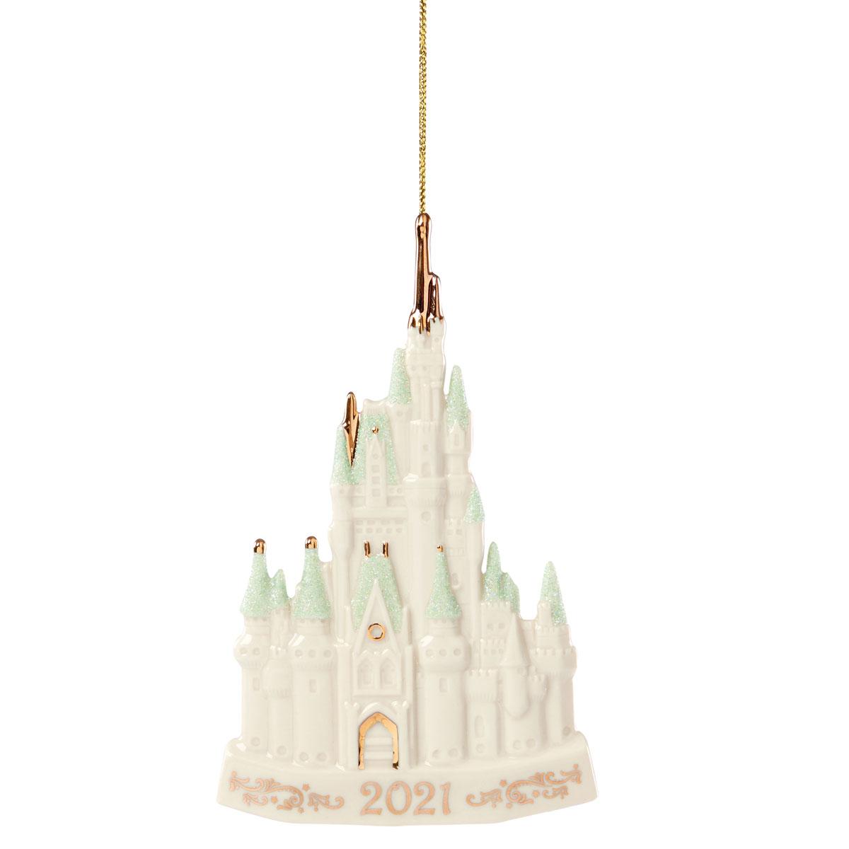 Lenox 2021 Disney 2021 Cinderella Castle Dated Ornament