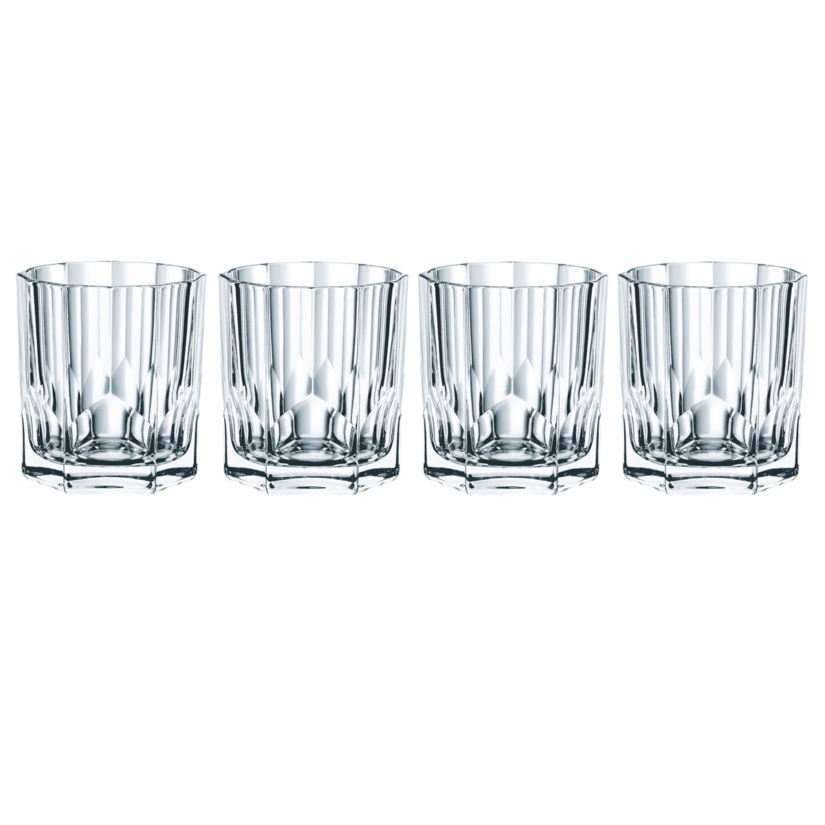 Nachtmann Aspen Whiskey Tumbler, Set of 4