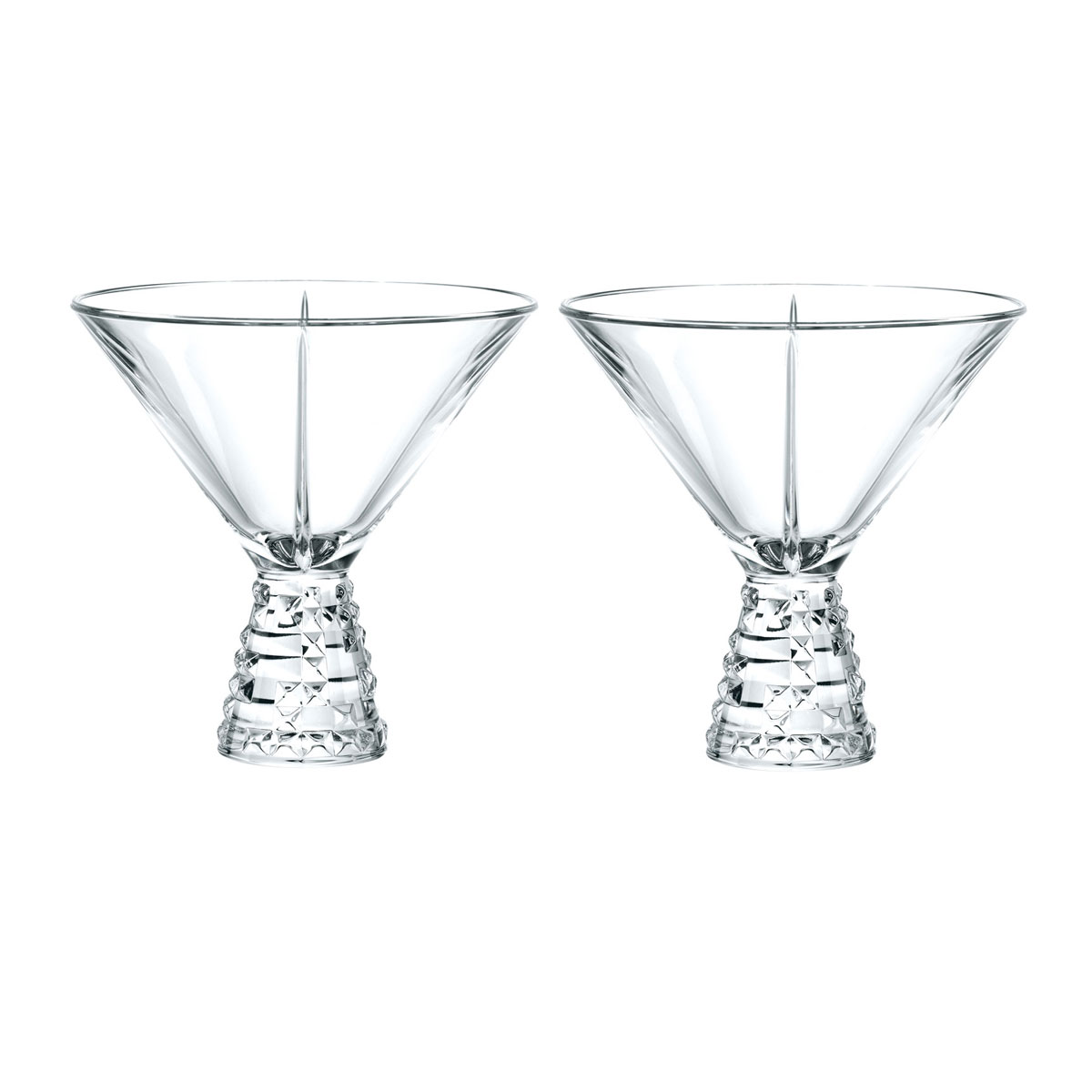 Nachtmann Punk Cocktail, Martini Glasses, Pair