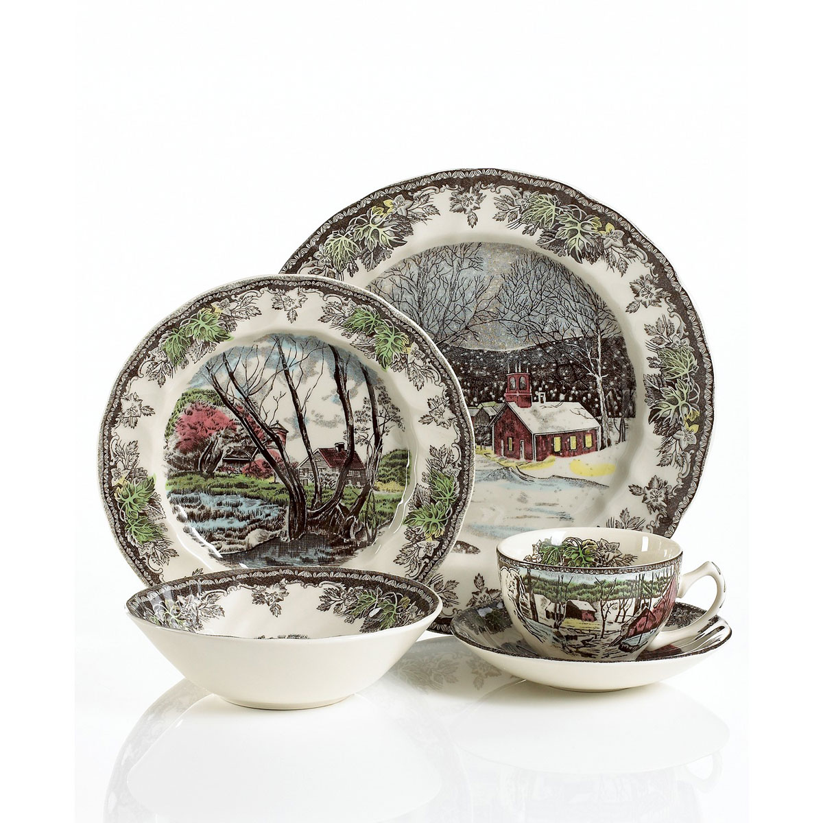Johnson Brothers Friendly Village 5-Piece Place Setting