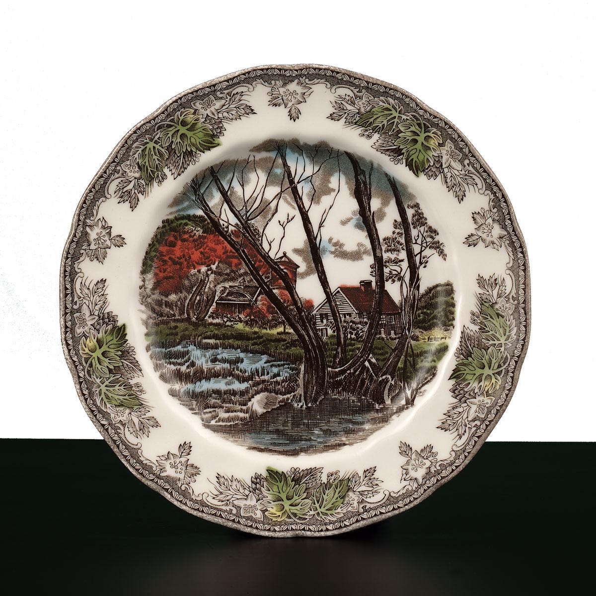 "Johnson Brothers Friendly Village Salad Plate 7.75"", Single"