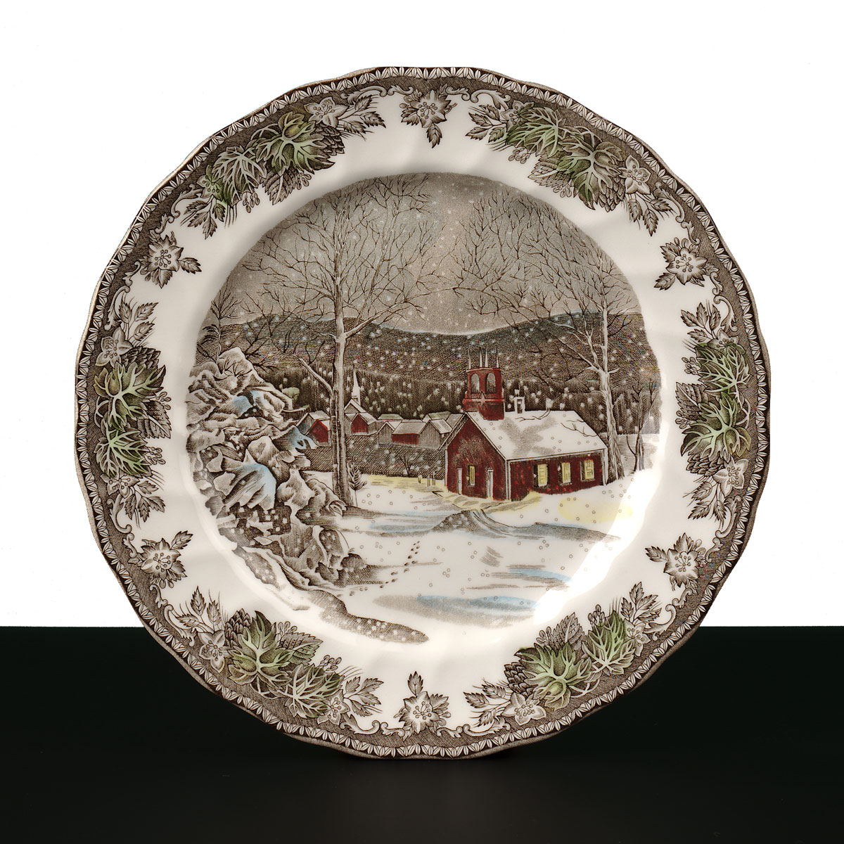 "Johnson Brothers Friendly Village Dinner Plate 10.5"", Single"